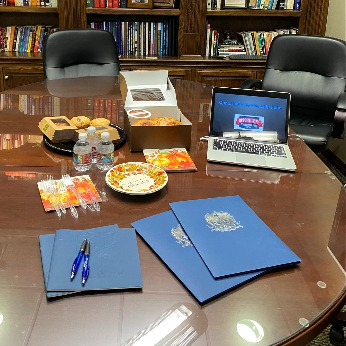 OSF Breakfast Table