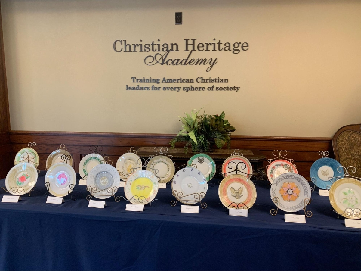 Presidential China Plates